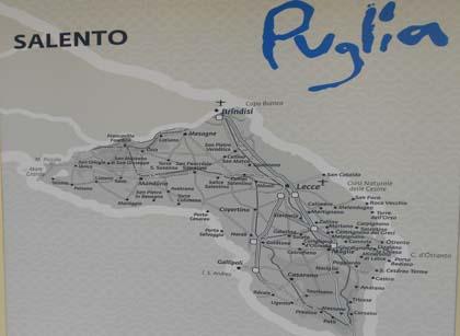 Cartina Puglia Localita Turistiche.Infopoint Turistici Nel Salento Sulle Cartine Mancano Molte Localita