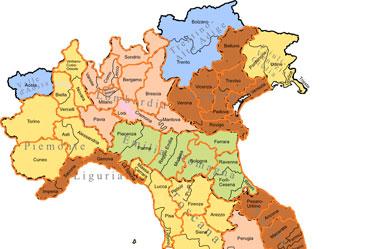 Cartina Italia Regioni Provincie.Riordino Delle Province Come Cambia La Cartina Politica Italiana