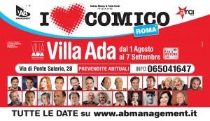 117x67,5 I LOVE COMICO - ROMA Estate 2014