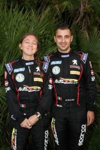 Andrea Nucita, Sara Cotone (Peugeot 207 S2000 #5, Phoenix);