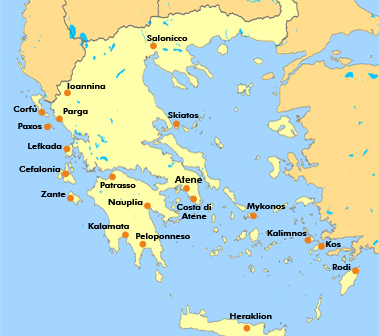 Paxos Cartina Geografica.Vogliono Fare Fallire La Grecia E La Prossima Sara L Italia