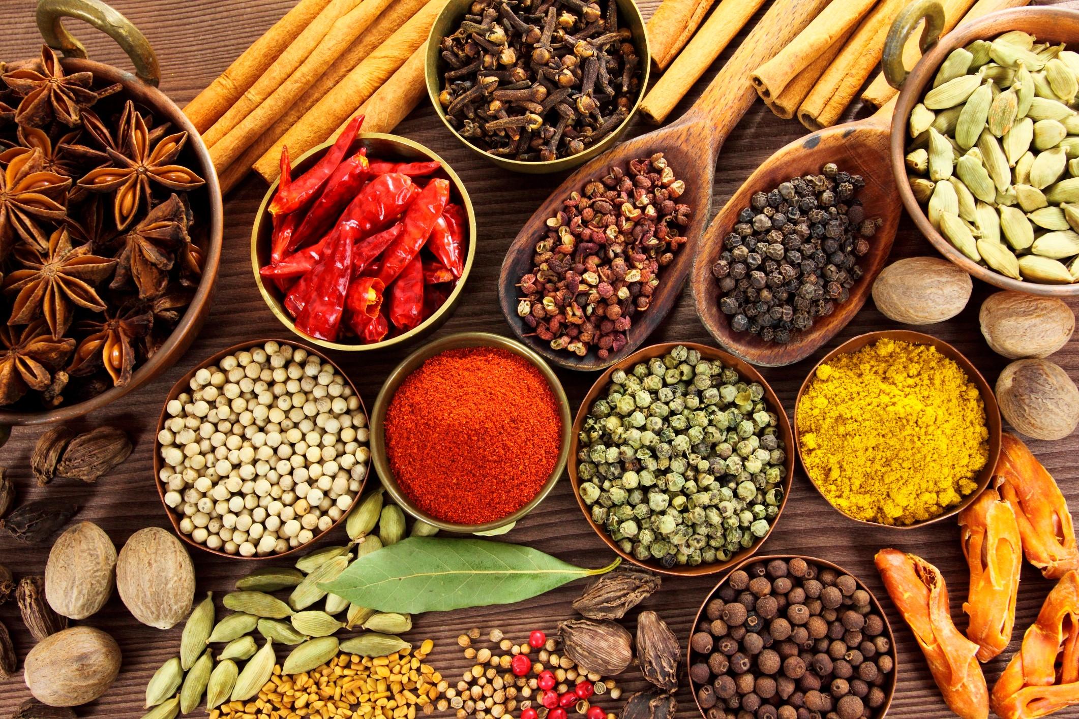Tutti i benefici e le qualit curative delle spezie - Le spezie in cucina ...