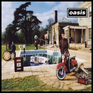 Oasis - Packshot - Be Here Now - 1500 300dpi Packshot