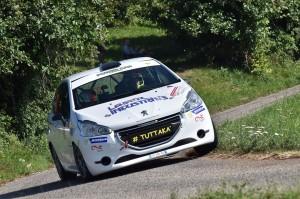 Marco Pollara - Giuseppe Princiotto su Peugeot 208 R2 al Rally del Friuli