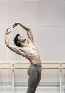Roberto Bolle - Royal Opera House, London 2014 -  photo Luciano