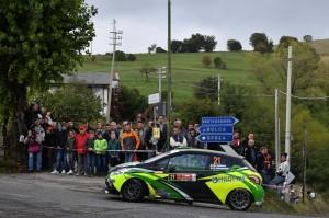 Pollara Princiotto su Peugeot in action Rally 2 Valli
