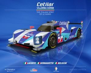 Livery Cetilar Villorba Corse Dallara LMP2 2017 01